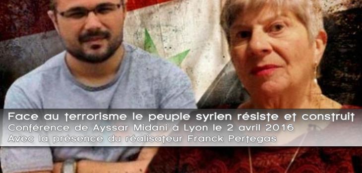 Conférence – Face au terrorisme le peuple syrien résiste et construit