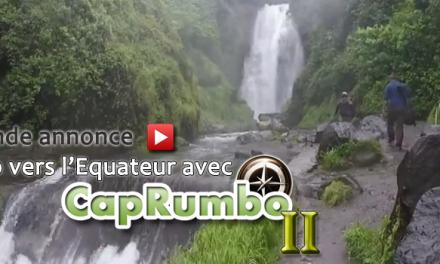 BA version Sash de Cap vers l'Equateur avec CapRumbo