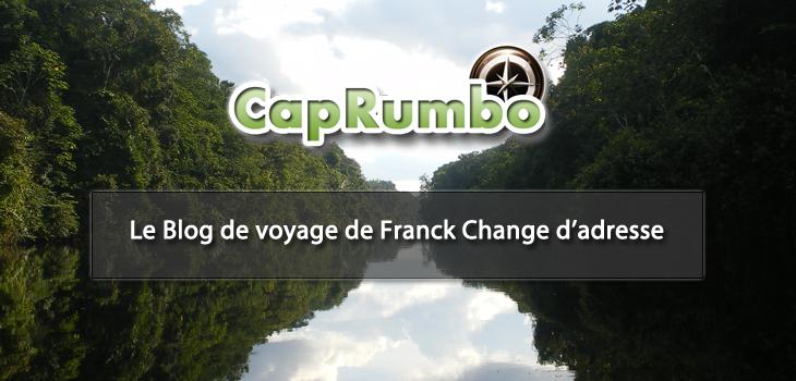 Le Blog de voyage de Franck Change d'adresse